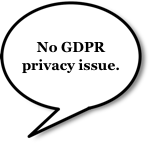 Balloon: No GDPR privacy issue.